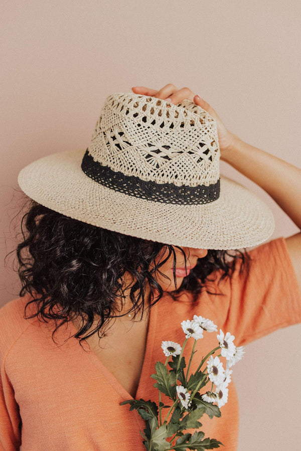 Accessories: Hat Bluffton Panama Hat Ivory
