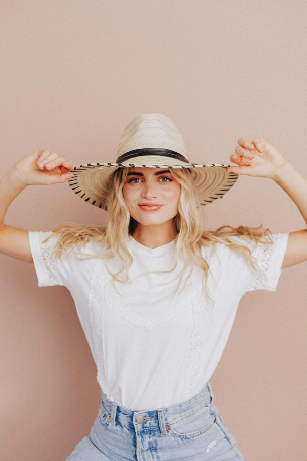 Accessories: Hat Isle of Palms Sun Hat Ivory