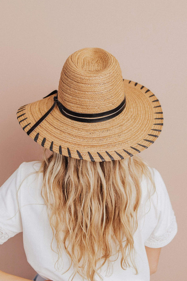 Accessories: Hat Isle of Palms Sun Hat Tan
