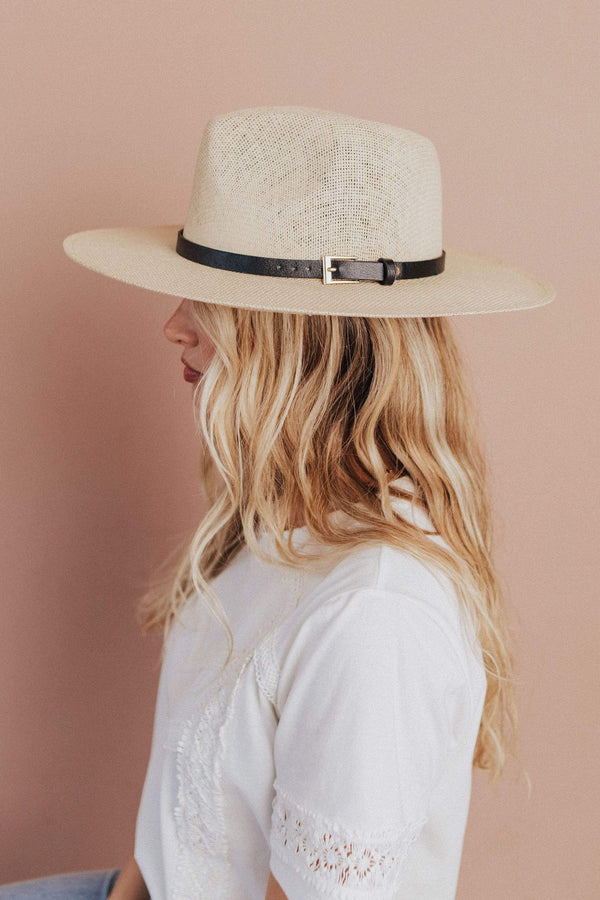 Accessories: Hat Jacksonville Panama Hat Ivory