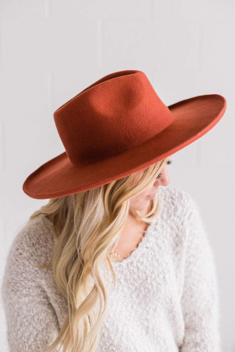 Accessories: Hat Los Angeles Hat Rust