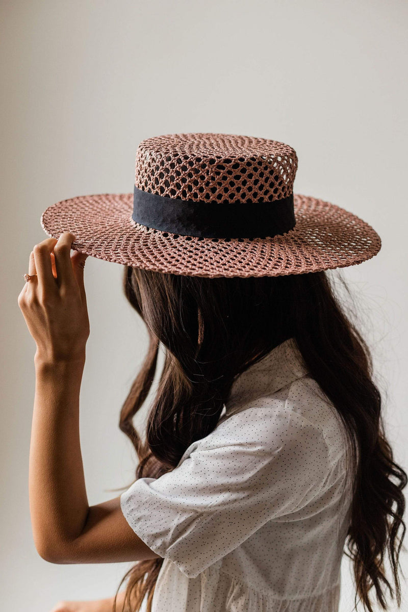 Accessories: Hat Venice Straw Hat