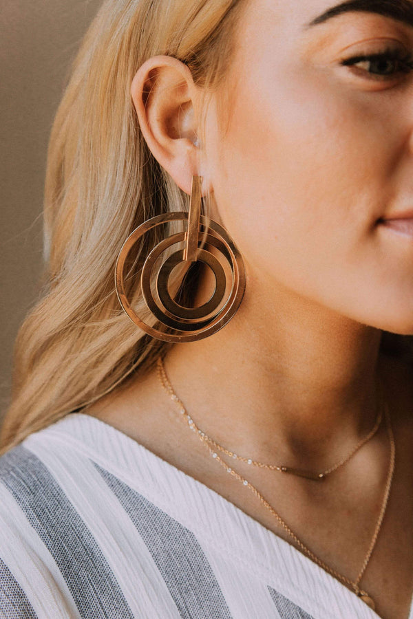 Accessories Hebe Hoops Earrings