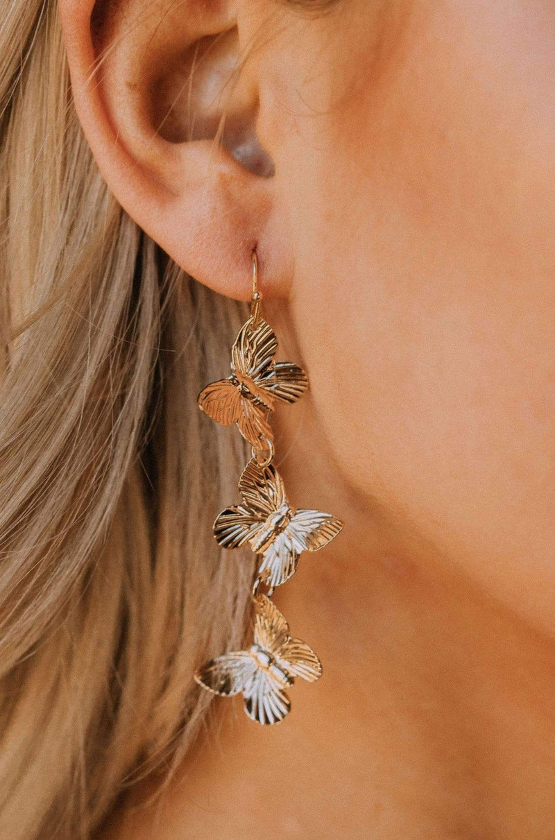 Accessories Hina Butterfly Earrings