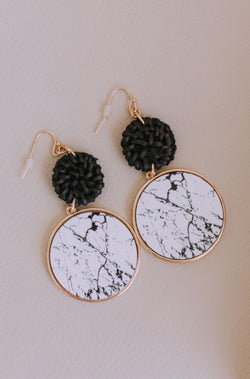 Accessories Laveau Marble Earrings