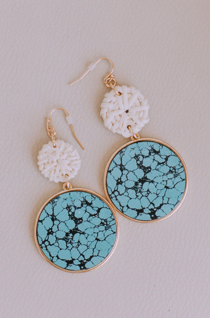Accessories Laveau Turquoise Earrings