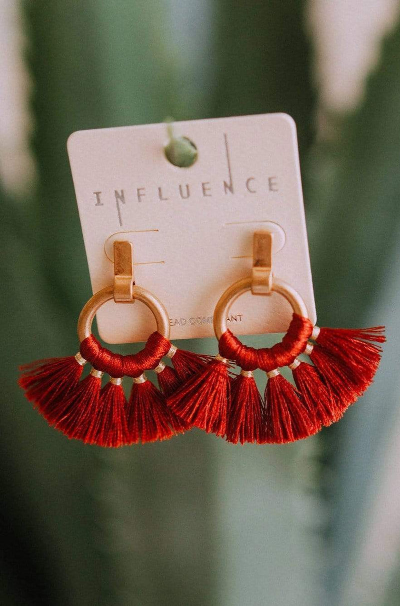 Accessories Limitless Earrings Rust