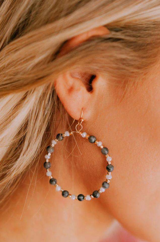 Accessories Mentor Earrings Charcoal
