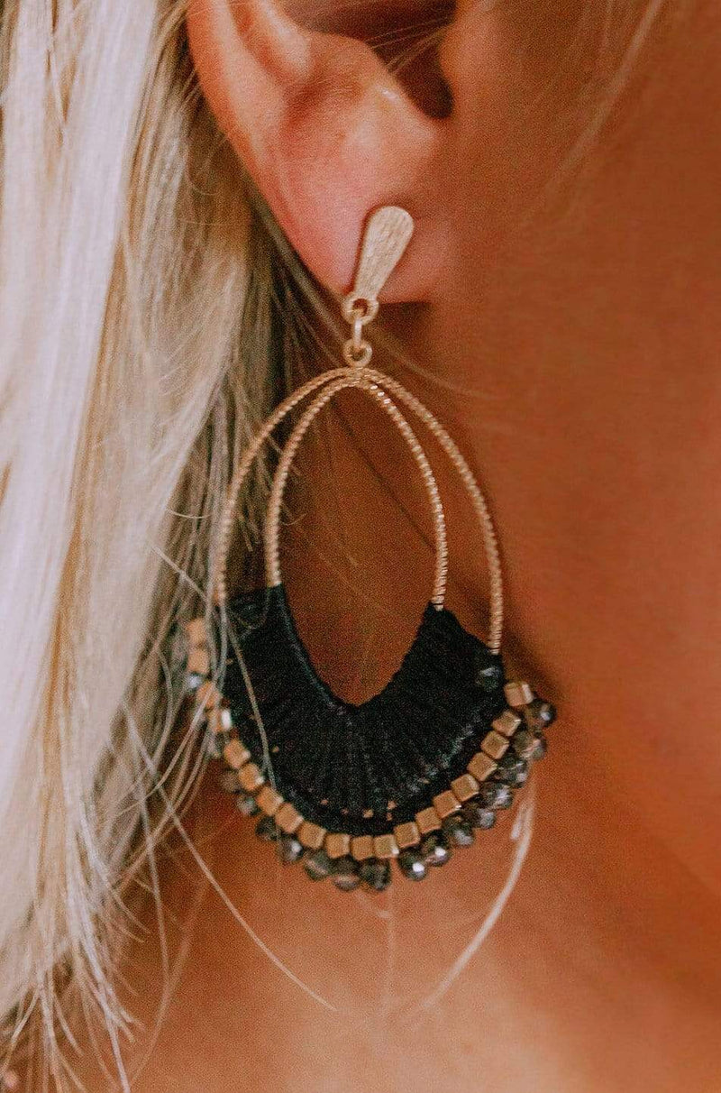 Accessories Nashville Earrings Black
