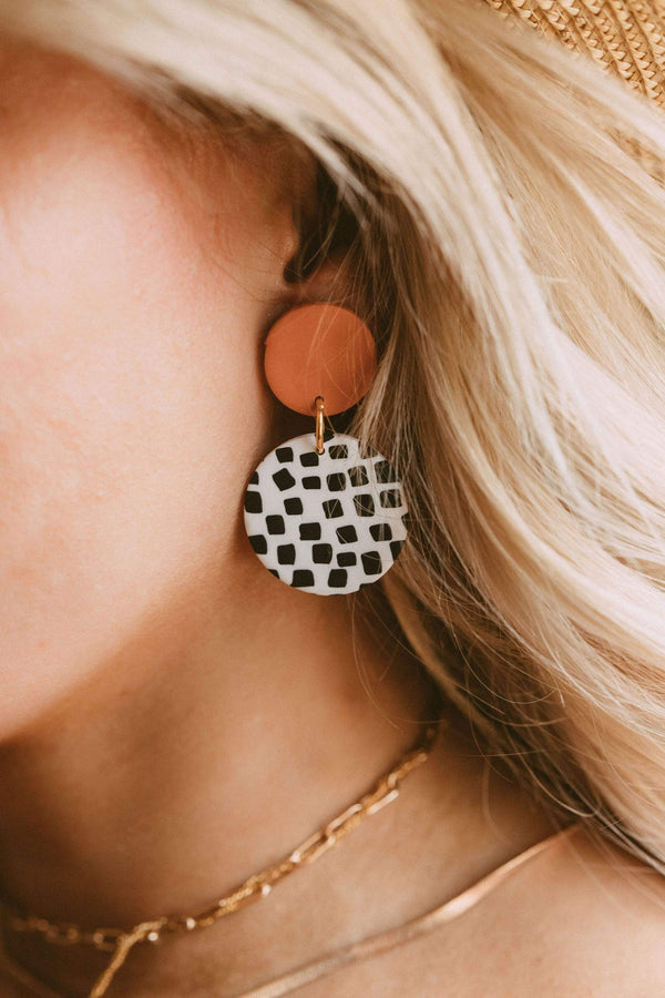 Accessories Producer Clay Earrings