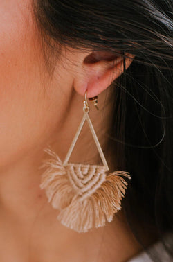 Accessories Serendipity Earrings Tan