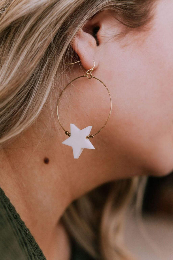Accessories Shooting Star Earrings
