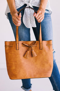 Accessories Soho Tote Bag Tan