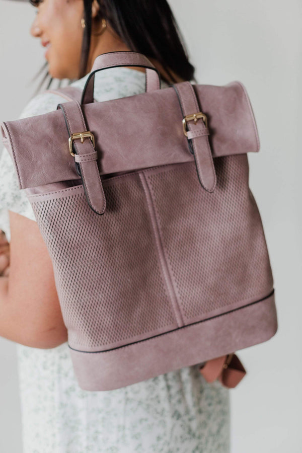Accessories Town Hall Backpack Mauve