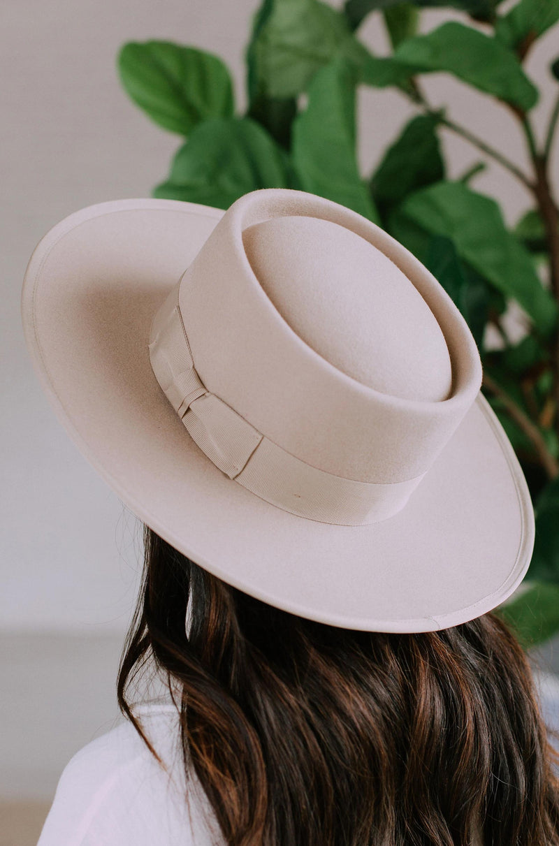 Accessories Trend Setter Hat Beige