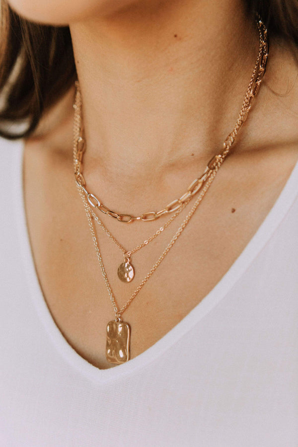 Accessories Work It Layered Necklace