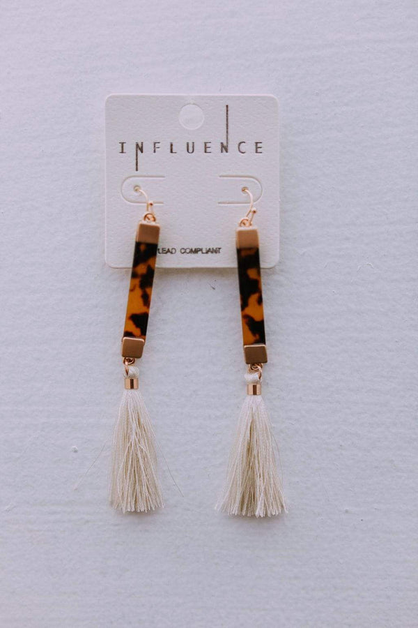 Accessories You and I Earrings Ivory