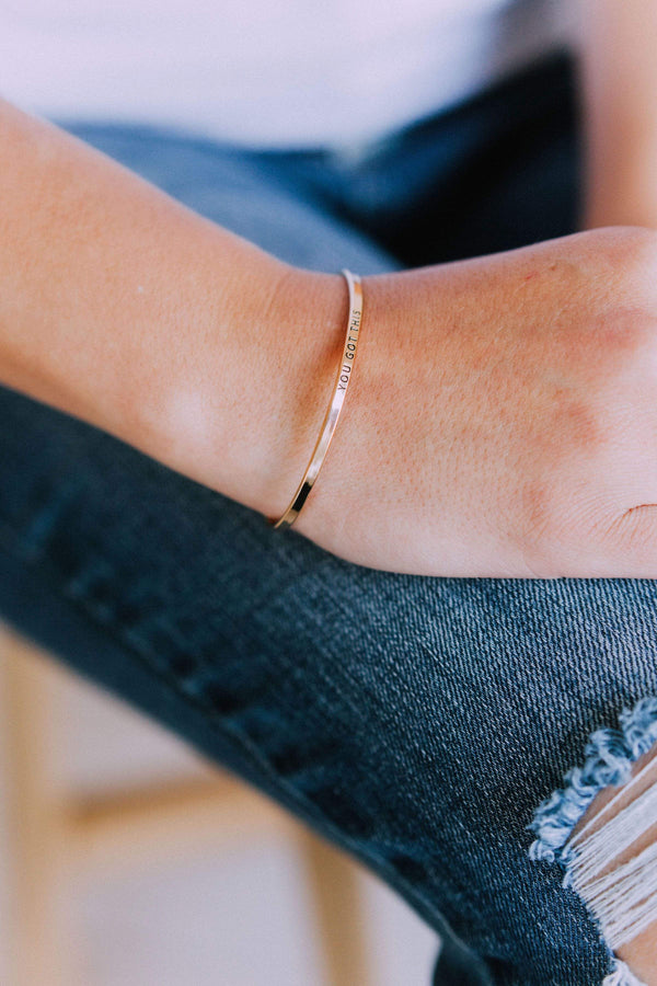 Accessories You Got This Bangle Bracelet Gold