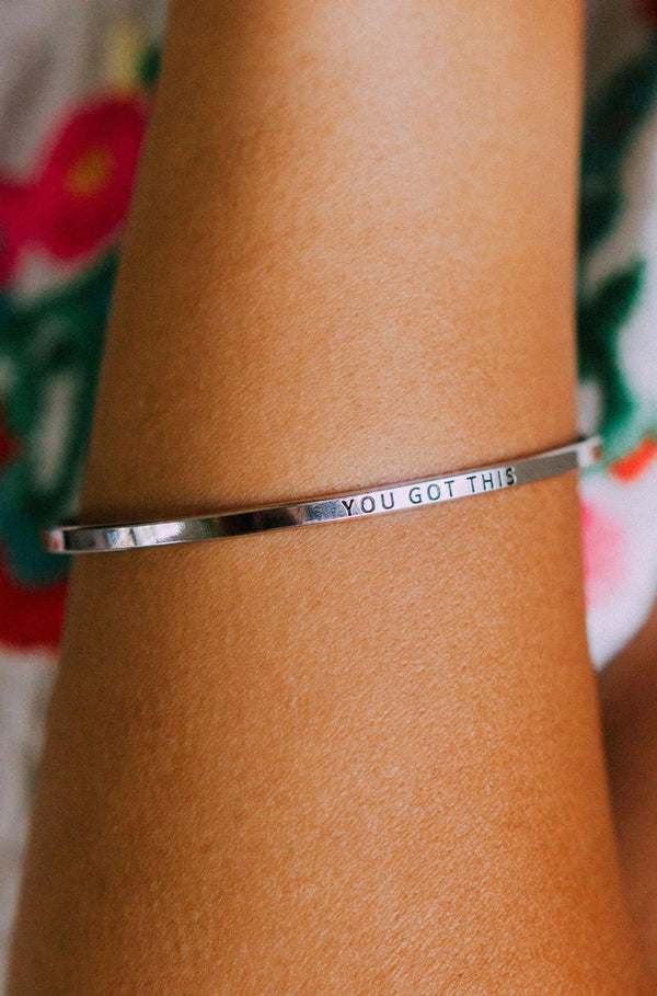 Accessories You Got This Bangle Bracelet Silver