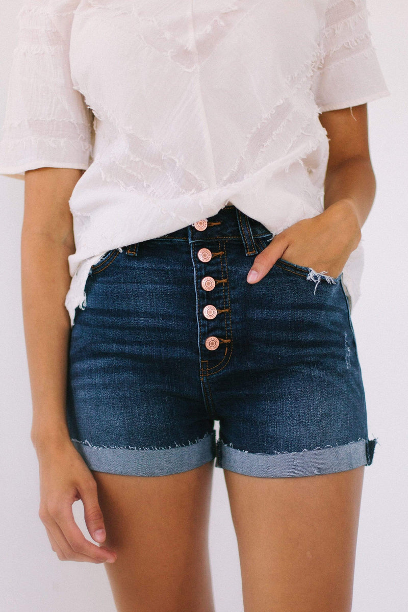 Bottoms Clarissa High Waisted Shorts