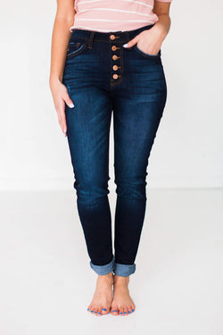 Bottoms Delilah High Waisted Jeans