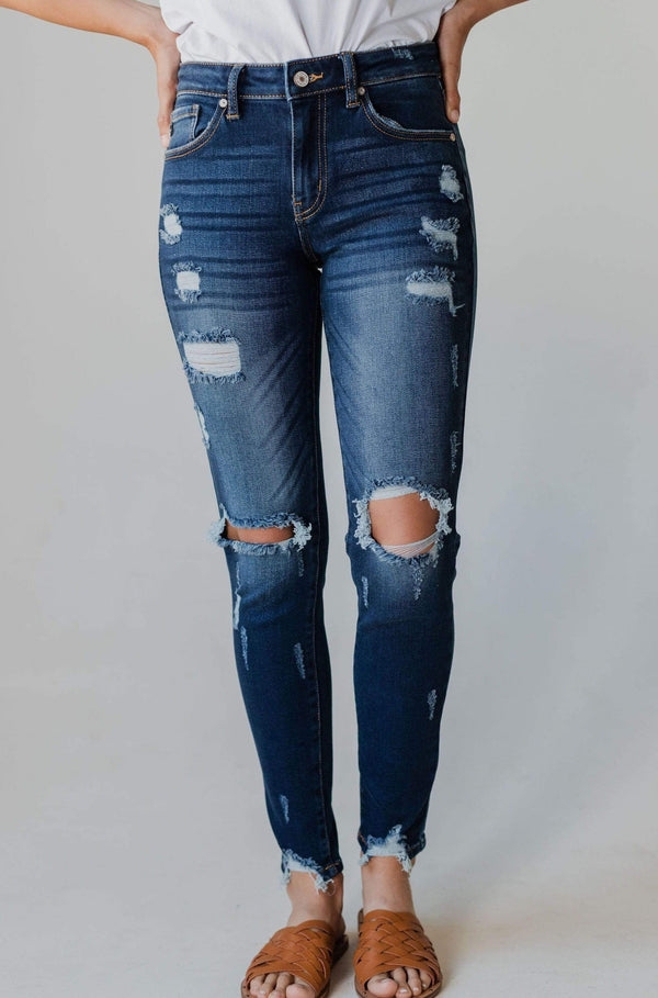 Bottoms Kimberly Dark Wash Jeans