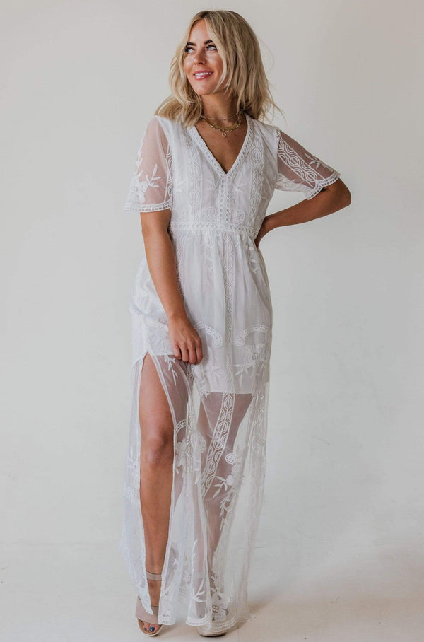Dresses Amelia Lace Dress Ivory