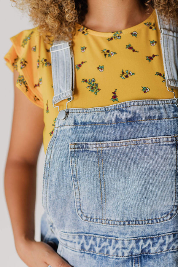 Dresses Brinley Denim Overall Skirt