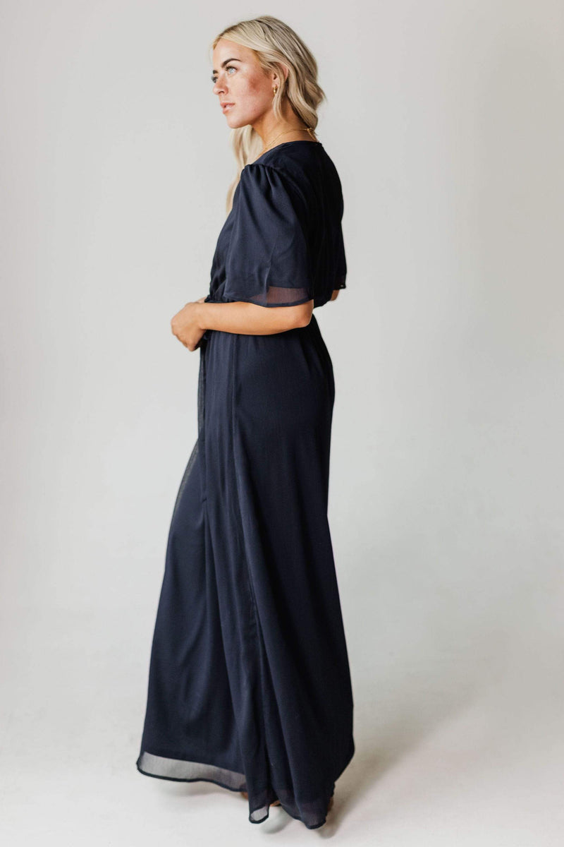 Dresses EXCLUSIVE! Tara Maxi Dress Navy