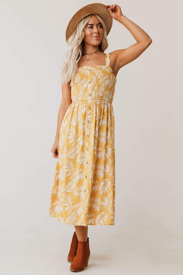 Dresses Kalani Tropical Smock Dress
