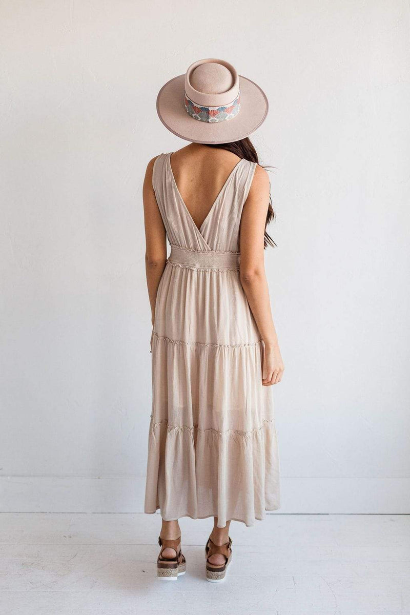 Dresses Kelsey Boho Dress Taupe