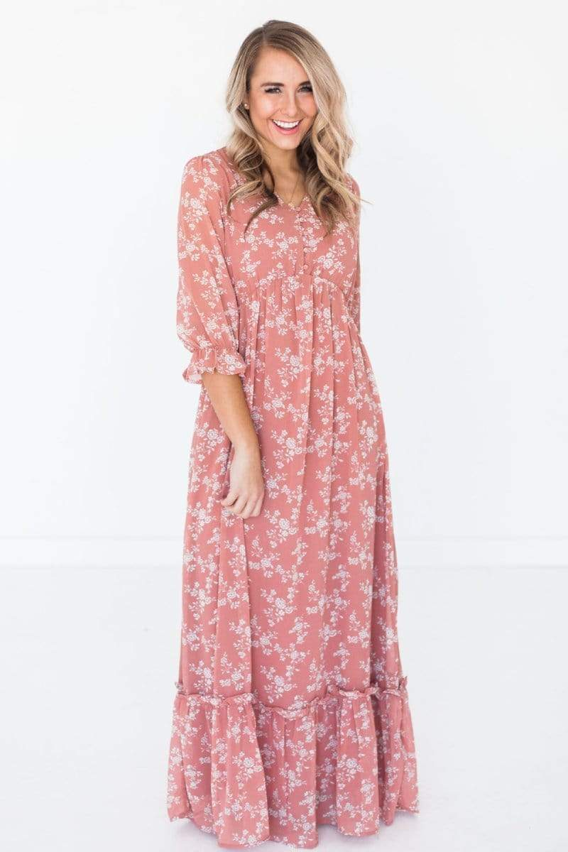 Dresses Kennedy Floral Dress Rose