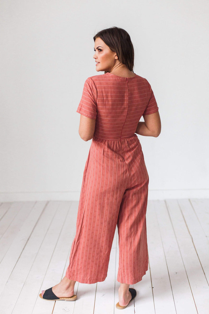 Dresses Luna Jumpsuit Rust