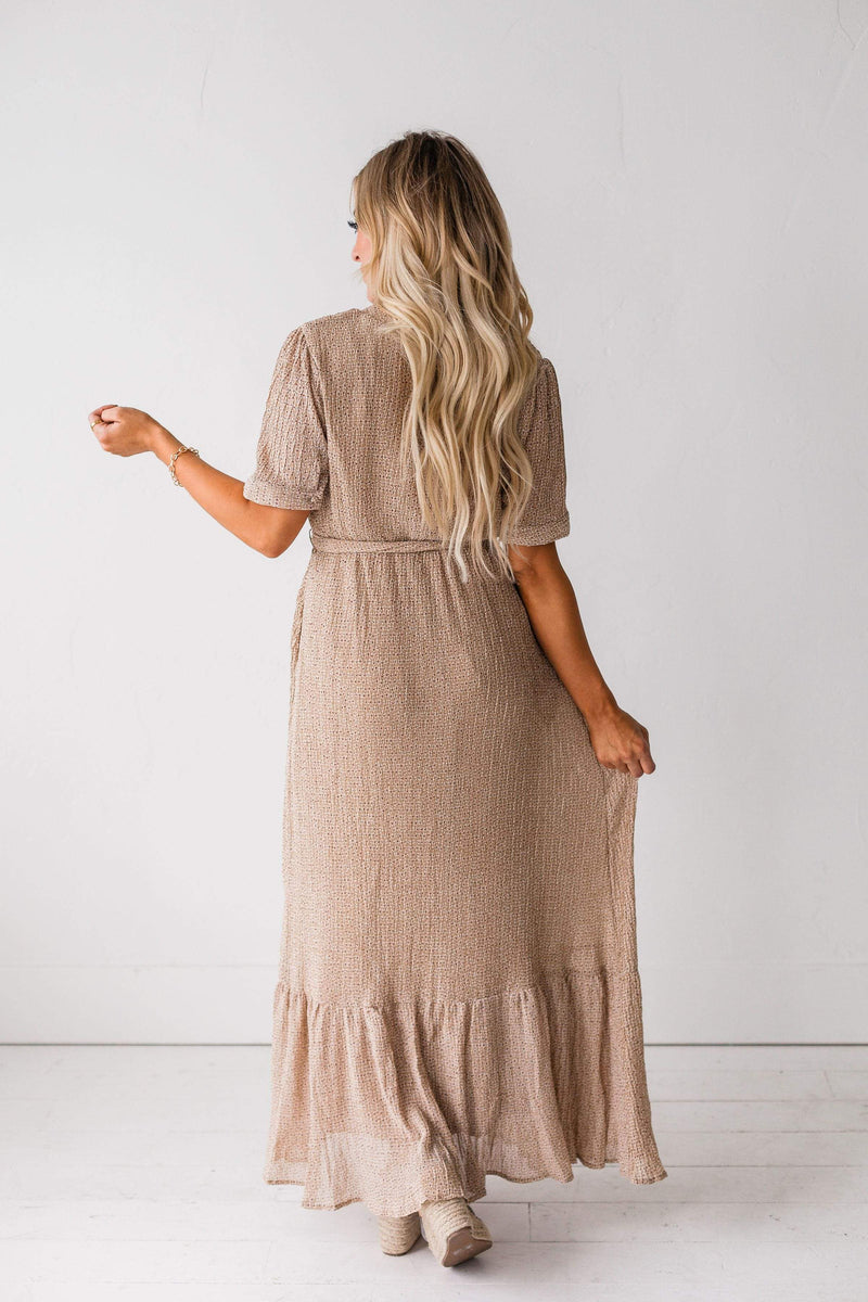 Dresses Marianne Floral Dress Taupe