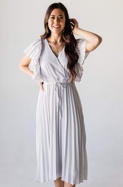 Dresses Ophelia Pleated Grey