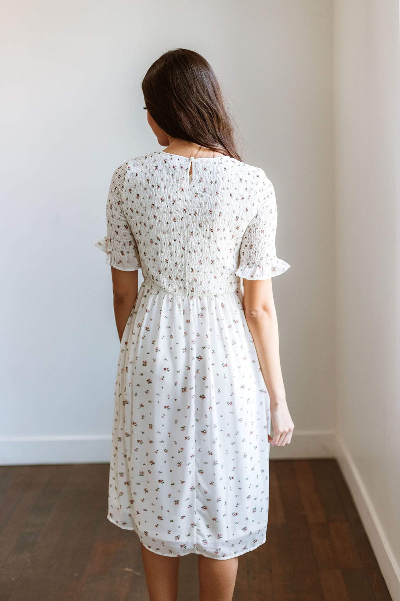 Dresses Peggy Floral Smock Dress