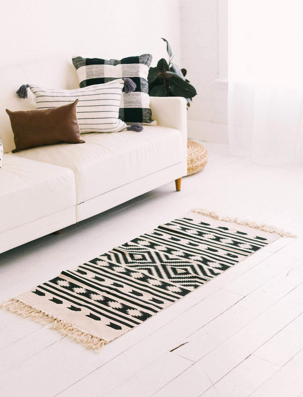 Home Aztec Throw Rug