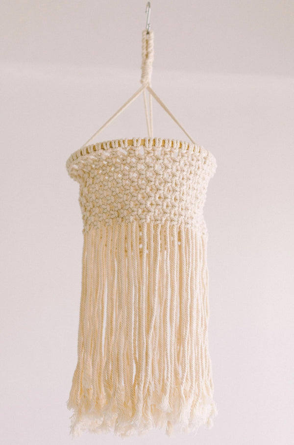 Home Macrame Chandelier