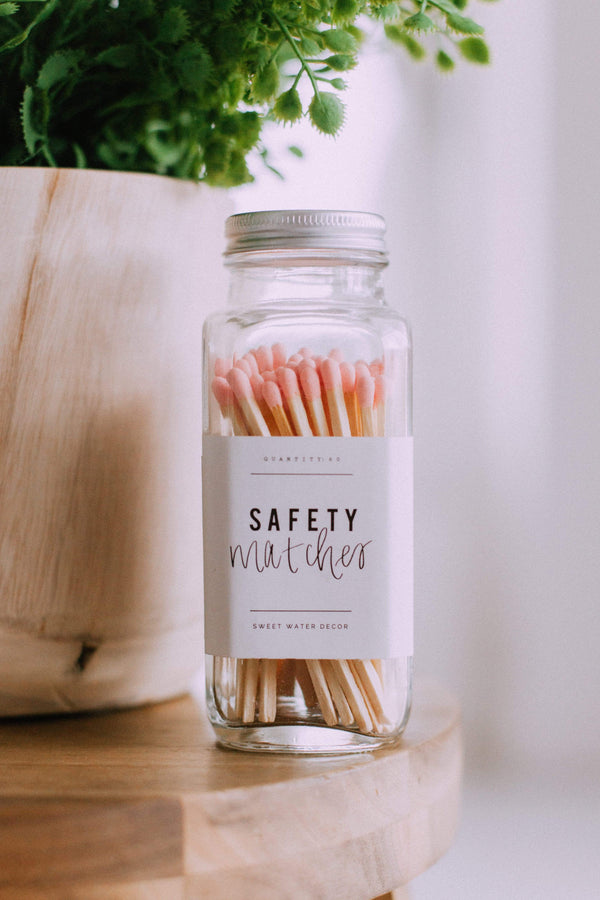 Home Safety Match Sticks