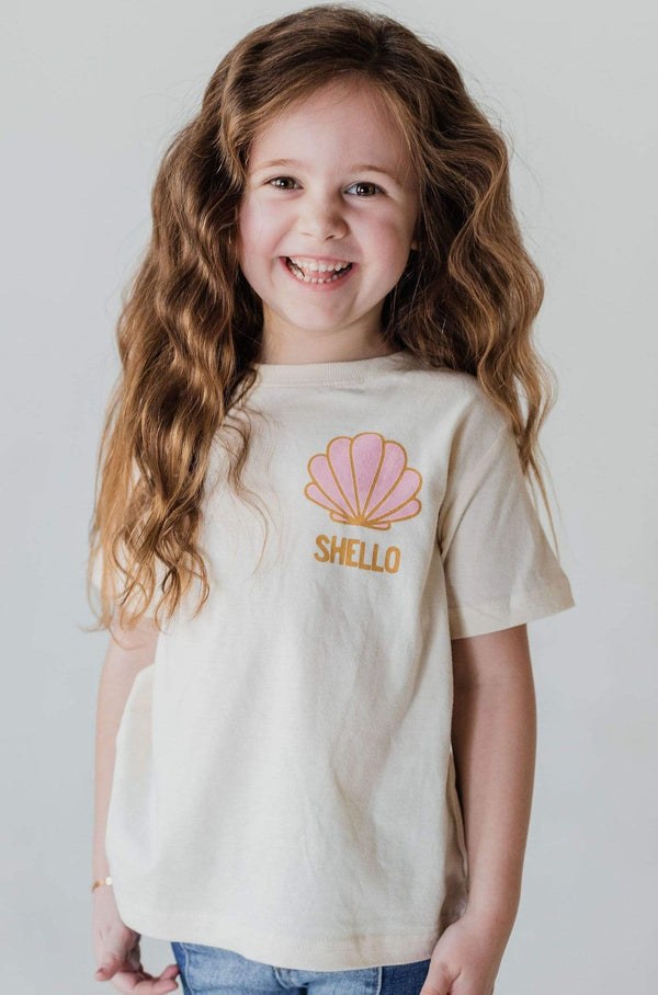 Kids KIDS Shello Graphic Tee