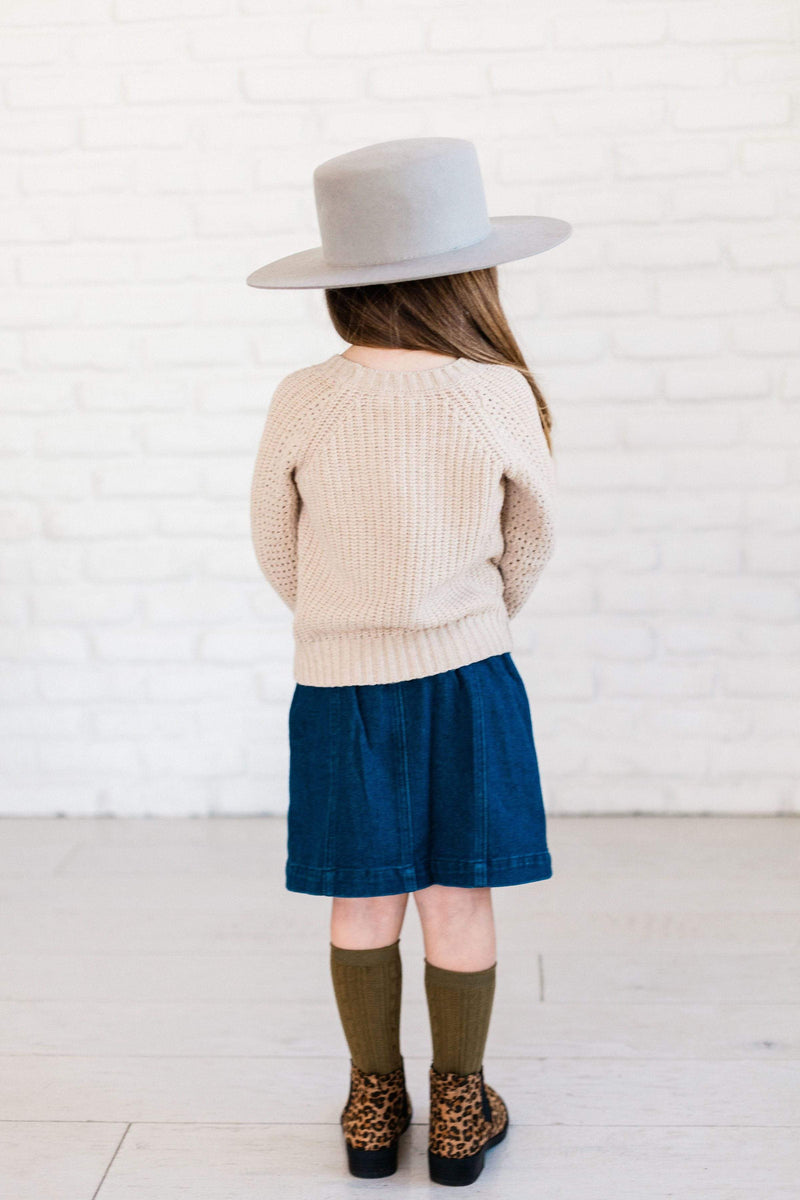 Kids Mia Denim Skirt