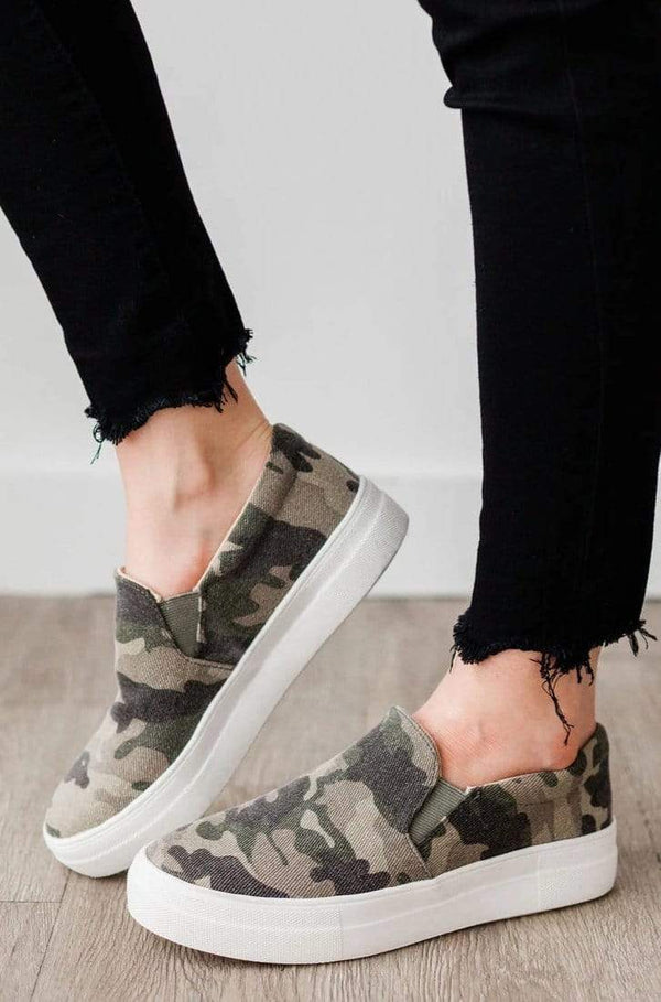 Shoes All Around Sneakers Camo