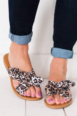 Shoes Autumn Sandals Leopard