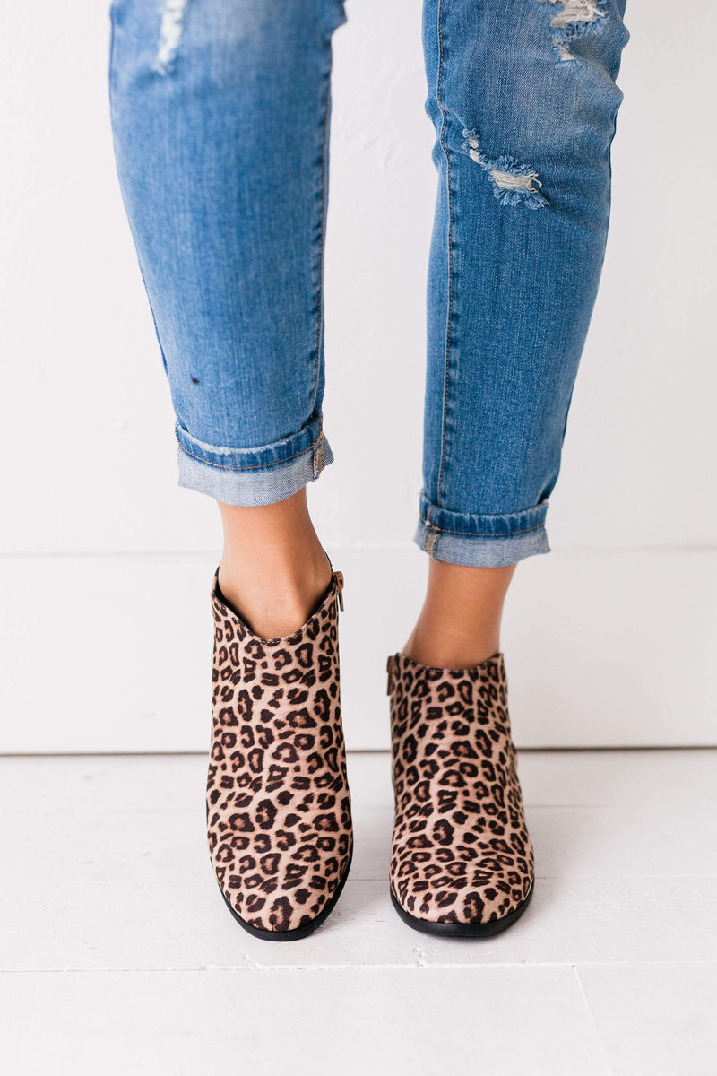 Shoes Basic Bootie Leopard