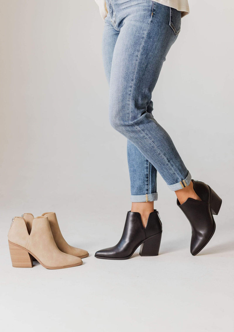 Shoes Bonnie Heel Booties Black