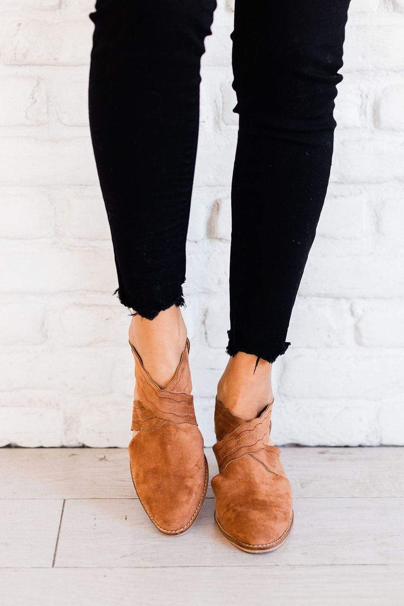 Shoes: Booties Kyle Booties Almond