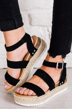 Shoes Bryce Espadrille Sandals Black