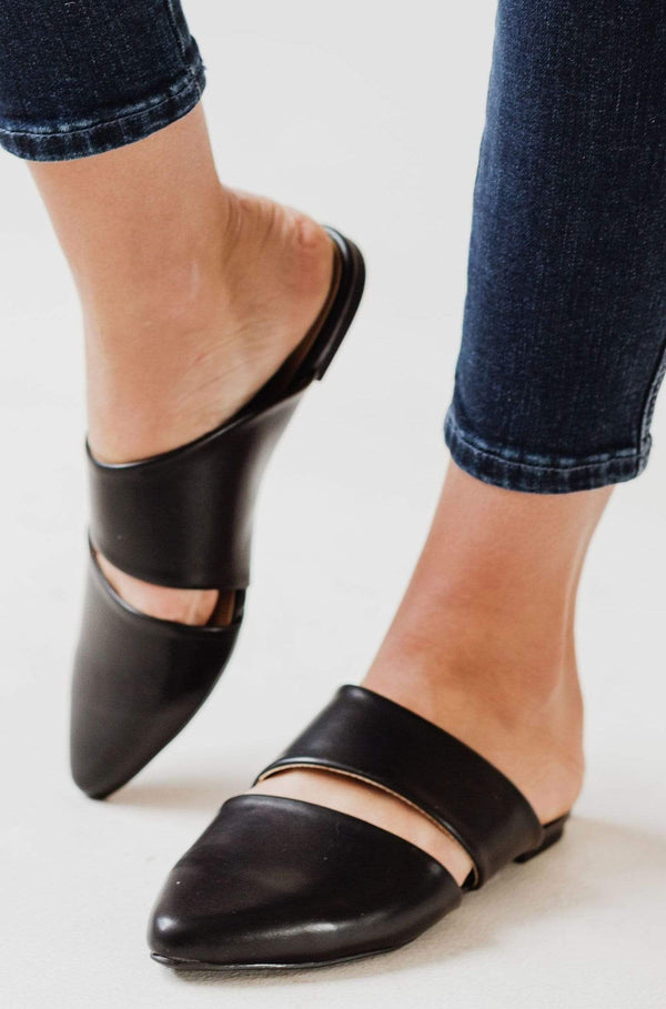 Shoes Cora Slip On Flats Black