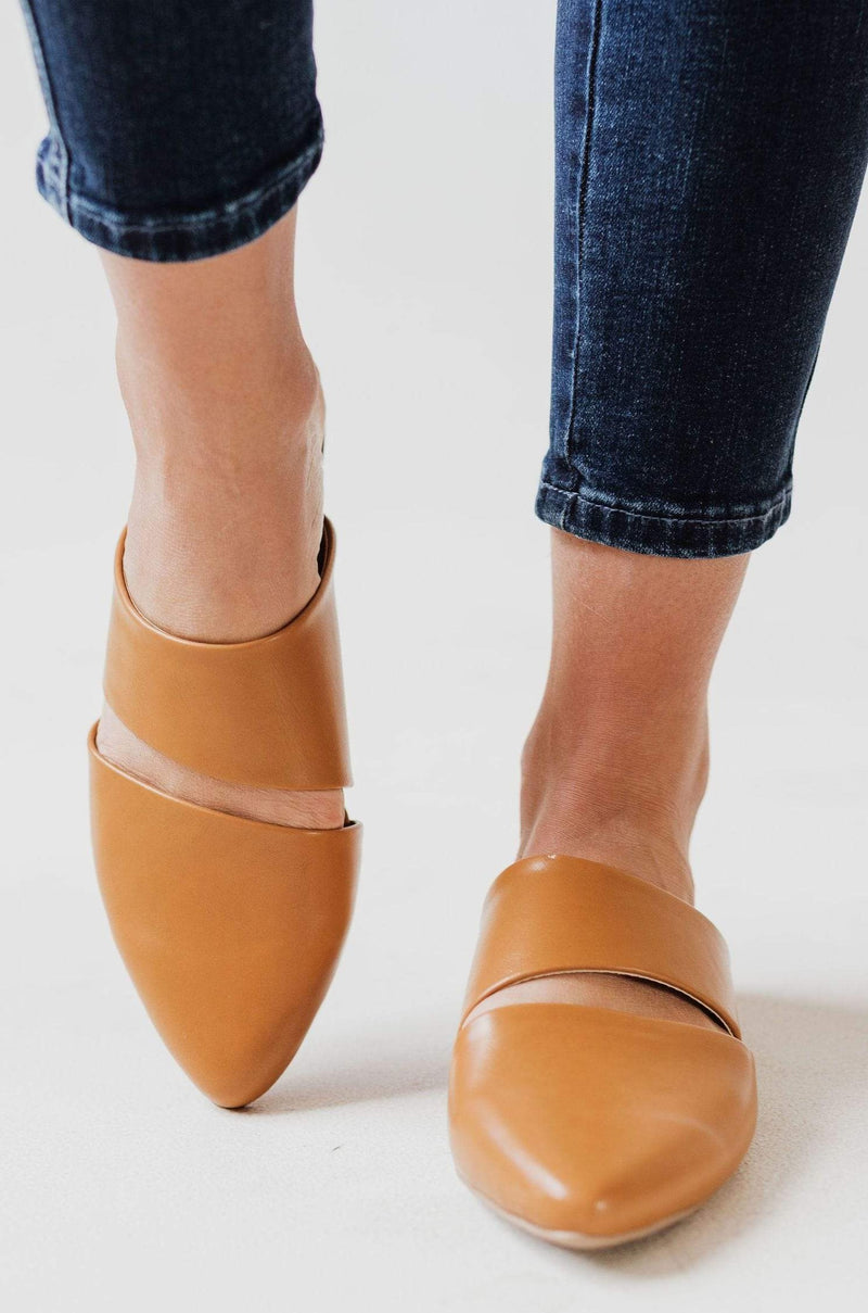 Shoes Cora Slip On Flats Camel