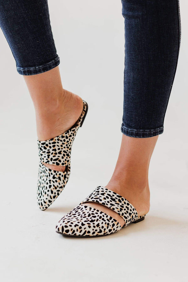 Shoes Cora Slip On Flats Leopard